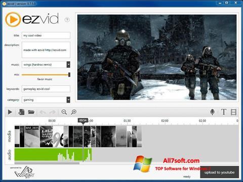 Screenshot Ezvid para Windows 7