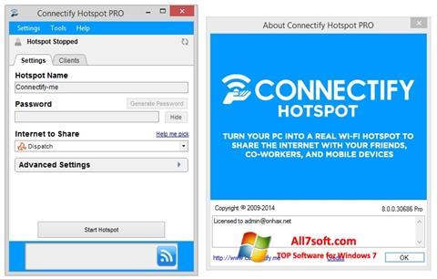 Screenshot Connectify Pro para Windows 7
