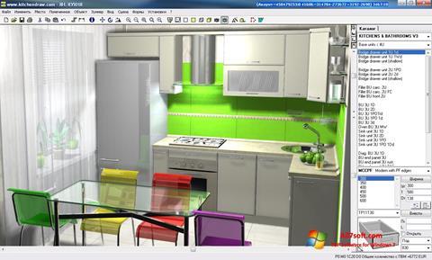 Screenshot KitchenDraw para Windows 7
