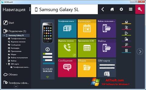 Screenshot MOBILedit! para Windows 7