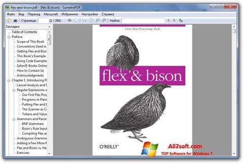 Screenshot Sumatra PDF para Windows 7