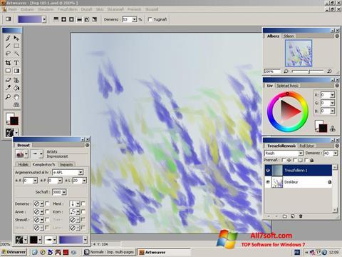 Screenshot Artweaver para Windows 7