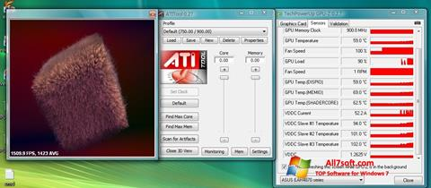 Screenshot ATITool para Windows 7