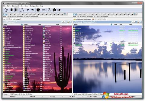 Screenshot Unreal Commander para Windows 7