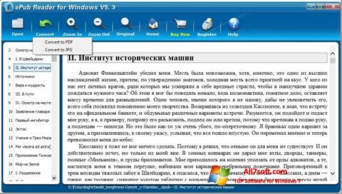 Screenshot Epub Reader para Windows 7