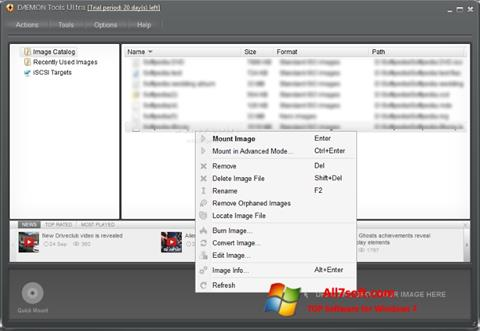 Screenshot DAEMON Tools Ultra para Windows 7