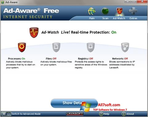 Screenshot Ad-Aware para Windows 7