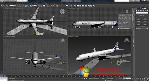 Screenshot 3ds Max para Windows 7