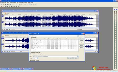 Screenshot Sound Forge para Windows 7