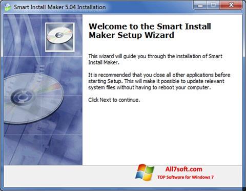 Screenshot Smart Install Maker para Windows 7