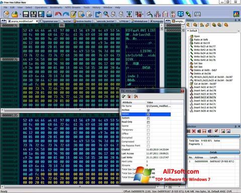 Screenshot Hex Editor Neo para Windows 7