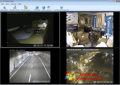 Screenshot IP Camera Viewer para Windows 7