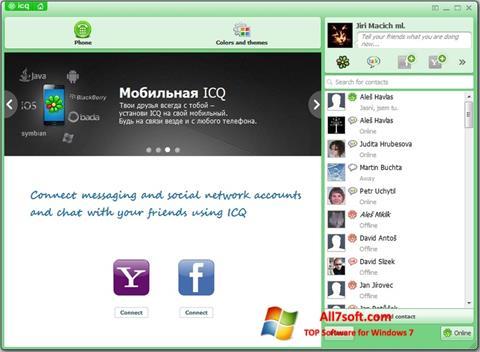 Screenshot ICQ para Windows 7
