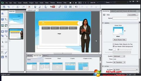 Screenshot Adobe Captivate para Windows 7