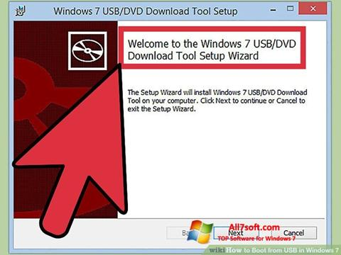 Screenshot Windows 7 USB DVD Download Tool para Windows 7