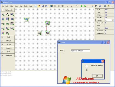 Screenshot HiAsm para Windows 7