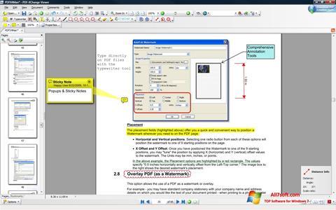 Screenshot PDF-XChange Viewer para Windows 7