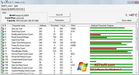 Screenshot S.M.A.R.T. Vision para Windows 7