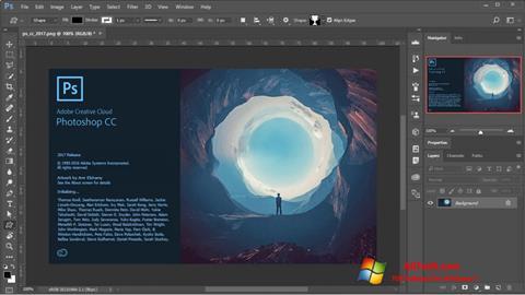 Screenshot Adobe Photoshop para Windows 7
