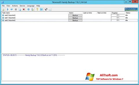 Screenshot Handy Backup para Windows 7