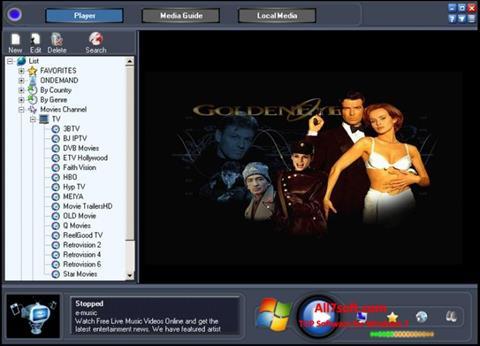 Screenshot Online TV Live para Windows 7
