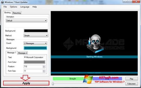 Screenshot Windows 7 Boot Updater para Windows 7