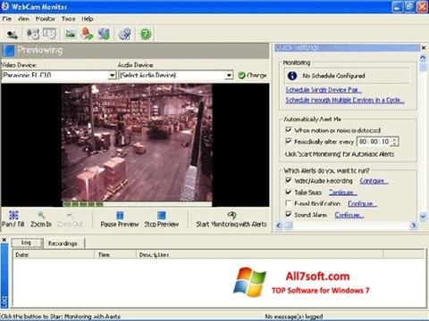 Screenshot WebCam Monitor para Windows 7