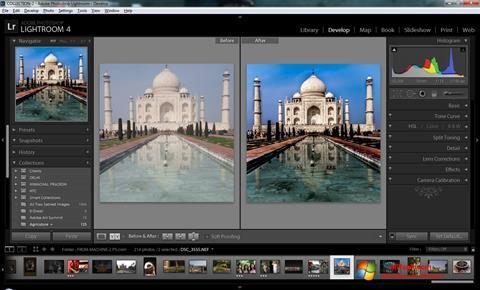 Screenshot Adobe Photoshop Lightroom para Windows 7