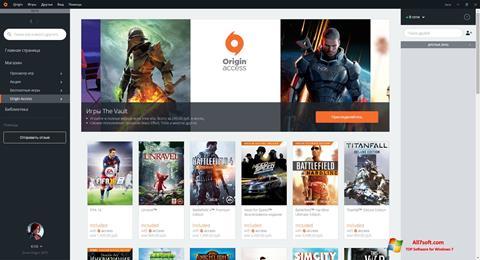 Screenshot Origin para Windows 7