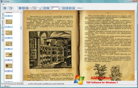 Screenshot DjVu Reader para Windows 7
