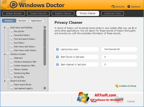 Screenshot Windows Doctor para Windows 7