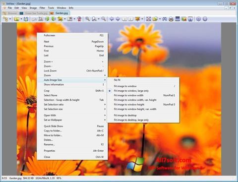Screenshot XnView para Windows 7