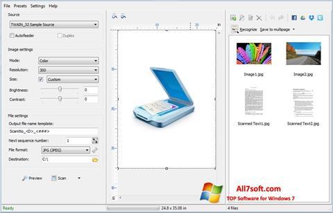 Screenshot WinScan2PDF para Windows 7