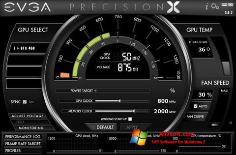 Screenshot EVGA Precision X para Windows 7