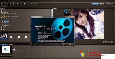 Screenshot ProShow Producer para Windows 7