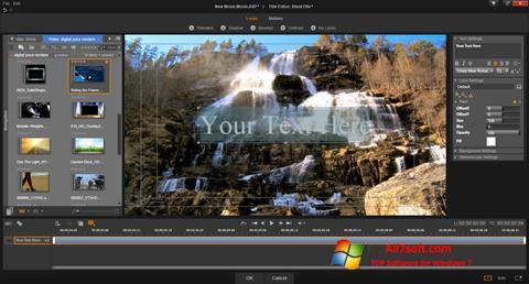 Screenshot Pinnacle Studio para Windows 7