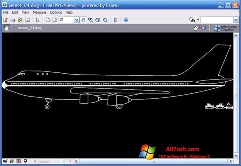 Screenshot DWG Viewer para Windows 7