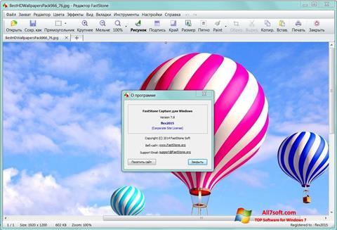 Screenshot FastStone Capture para Windows 7