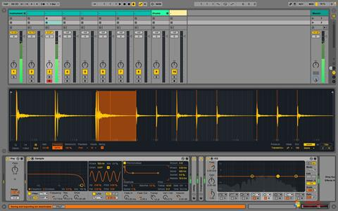 Screenshot Ableton Live para Windows 7