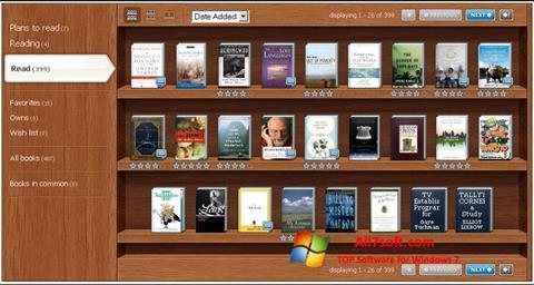 Screenshot Bookshelf para Windows 7