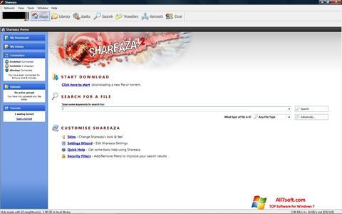 Screenshot Shareaza para Windows 7