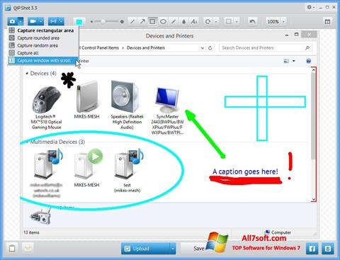 Screenshot QIP para Windows 7