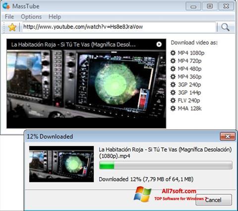 Screenshot MassTube para Windows 7