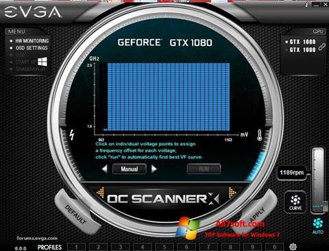 Screenshot EVGA Precision para Windows 7