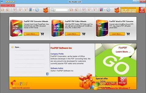 Screenshot Doc Reader para Windows 7