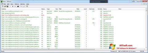Screenshot Xenu para Windows 7
