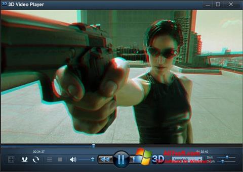 Screenshot 3D Video Player para Windows 7