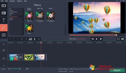 Screenshot Movavi Video Suite para Windows 7