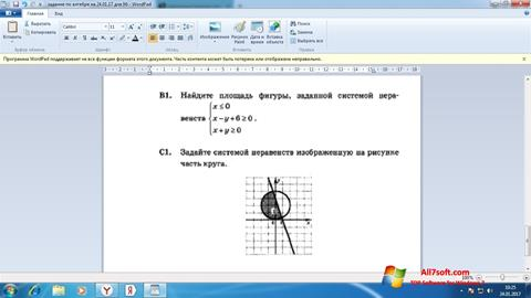 Screenshot WordPad para Windows 7