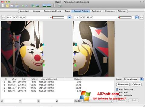 Screenshot Hugin para Windows 7